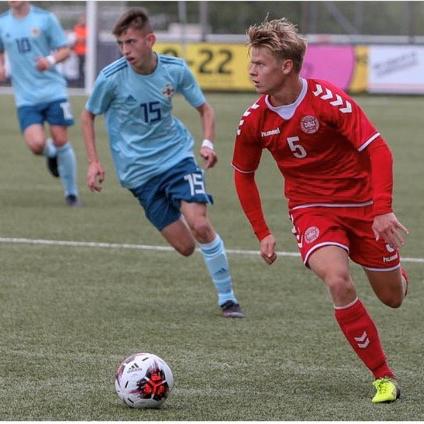 TACKSAM: Den danska landslagsspelaren Oscar Fuglesang säger att NF Academy spelade en avgörande roll i hans talangutveckling.