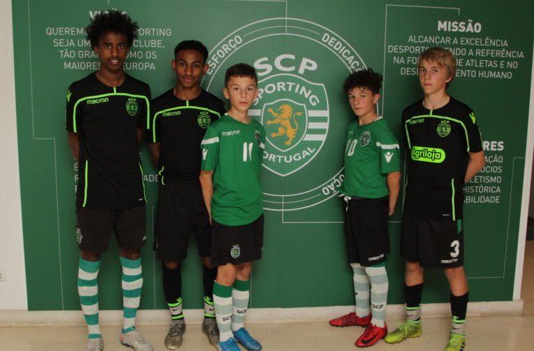 Bashir Huseen Bashiir, Sahle Wållberg, Blerton Isufi, Alfredo Steiner och Noah Rørvik Solheim är några av de spelare som fått provträna för Sporting Academy