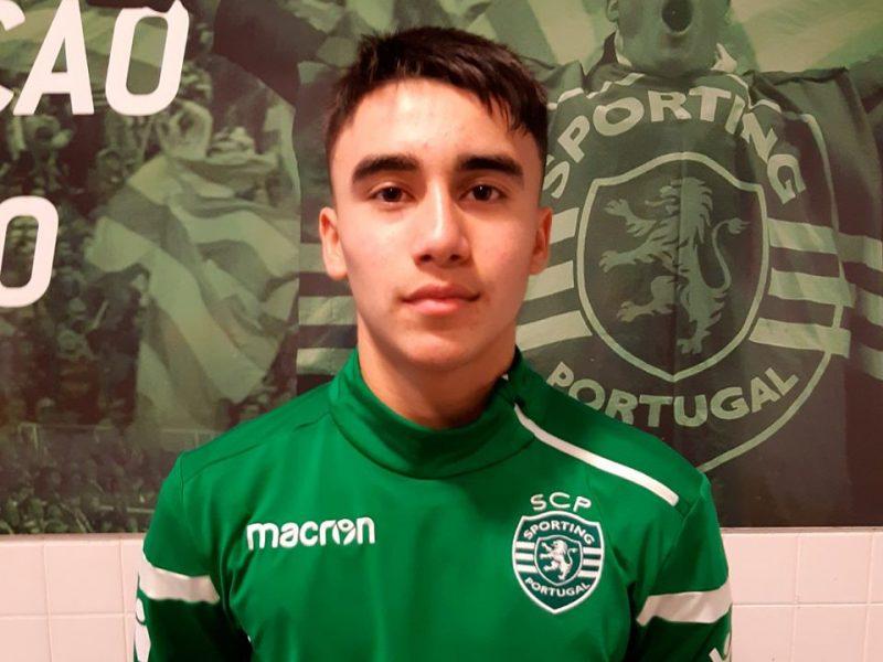 PROVTRÄNING HOS SPORTING: Alexi gjorde en bra uppvisning under en träningsperiod hos Sporting CP i november 2019