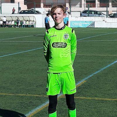 Vägen till Sporting CP startade med ett NF International evenemang för Morten Haug, Norge 2006.