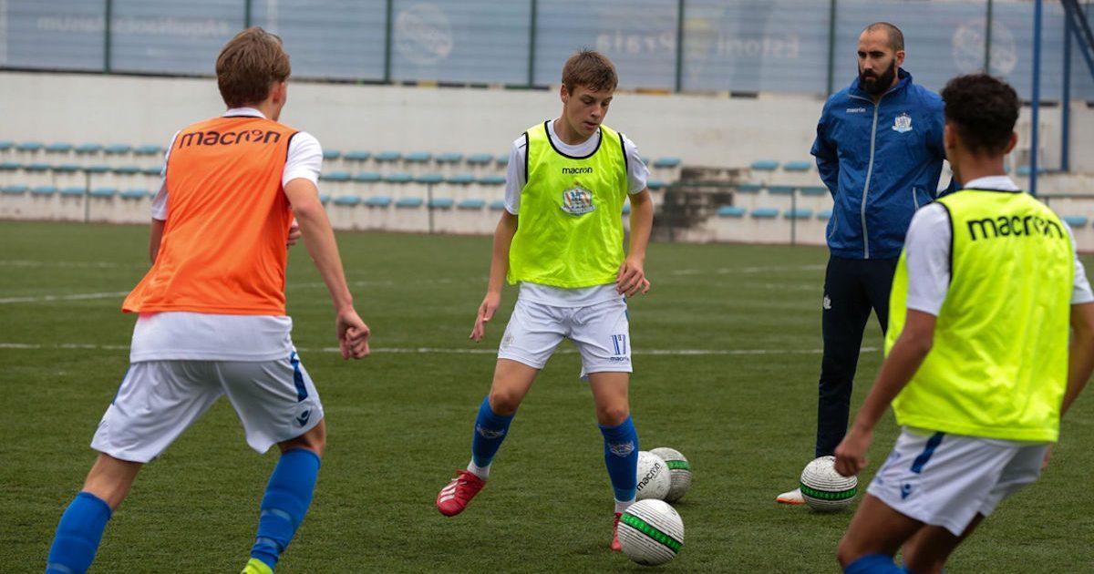 NF Academys internationella träningsläger leds av portugisiska topptränare.