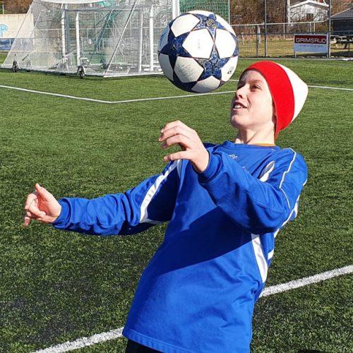 Kristian Lorentzen representerar norska Kvik Halden FK och blev nyligen inbjuden till det mycket konkurrenskraftiga Equinor Talent lägret.