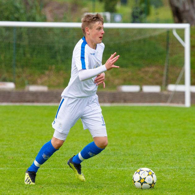 NF Academy spelaren Kimi Storsjö skrev nyligen på ett kontrakt med Kalmar FF.