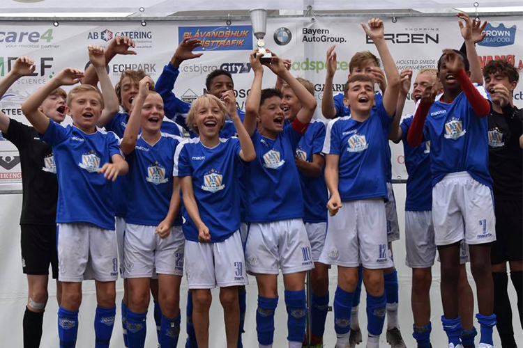 NF Academy fick första pris under Nordic Invitational Cup 2019.