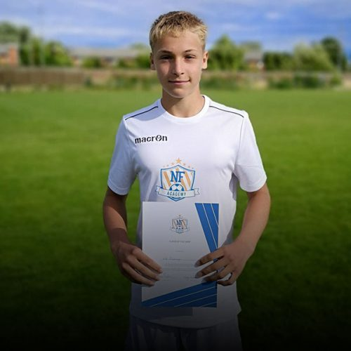 NF Academy Player Axel Elmberger
