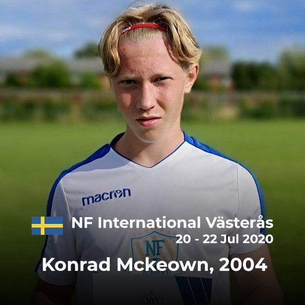 NF Academy International Player of the Camp Winner